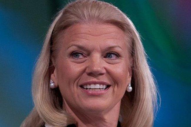 Virginia Rometty, CEO d'IBM va toucher un salaire annuel de 1,6 millions de dollars et 13,3 millions de dollars d'actions en 2015, Crédit: D.R