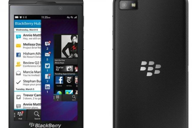 La mise à jour 10.3.1 de Blackberry ajoute l'accès au kiosque d'Amazon. Crédit: D.R.