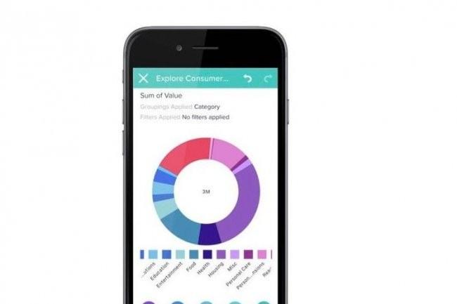 Dans la mise à jour de Wave, Salesforce.com fournit un connecteur permettant d'importer des données brutes directement dans l'app mobile pour les transformer en graphiques partageables.