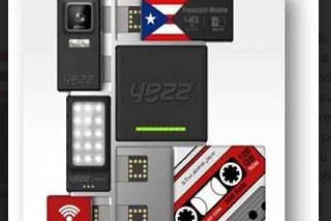 Yezz s'est lancé tout récemment dans le projet Ara mais il pourrait être l'un des premiers à proposer des modules, avec Toshiba. (crédit : D.R.)