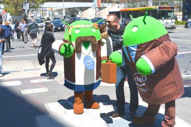 Google Android veut apporter la réalité virtuelle sur les terminaux mobiles.