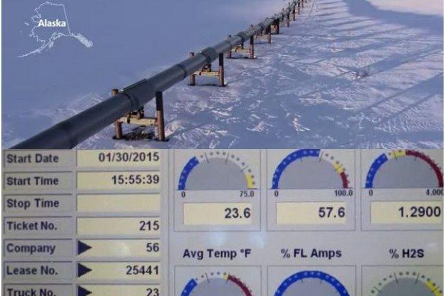 Selon Microsoft, Azure IoT peut ingérer des millions voire des milliards de dispositifs connectés. Rockwell fait par exemple remonter des données de capteurs installés sur des oléoducs, en Alaska, ci-dessus. (crédit : D.R.)