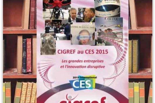 Les grandes entreprises et l'innovation disruptive : Les enseignements du CES 2015 pour la Fonction SI, édité par le Cigref. (crédit : D.R.)