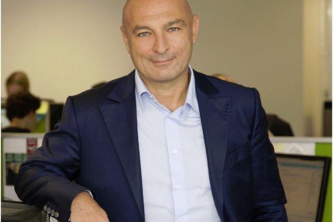 Michael Jais, co-fondateur et directeur général d'Augure, qui développe des solutions pour interagir avec les influenceurs sur le web. (crédit : D.R.)