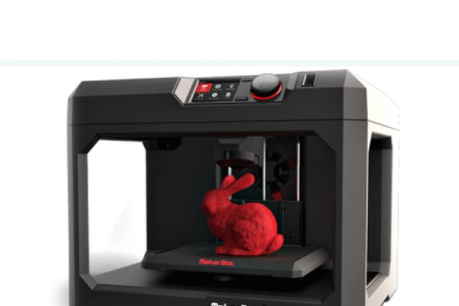 Lors du 4e trimestre 2014, pas moins de 41 000 imprimantes 3D ont été vendues. (Crédit :Makerbot)