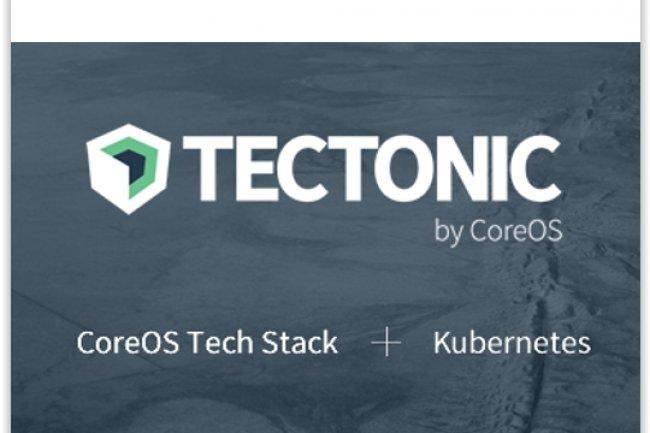 Tectonic ajoute la brique de gestionnaire de conteneurs Kubernetes à la distribution Linux CoreOS. (crédit : D.R.)