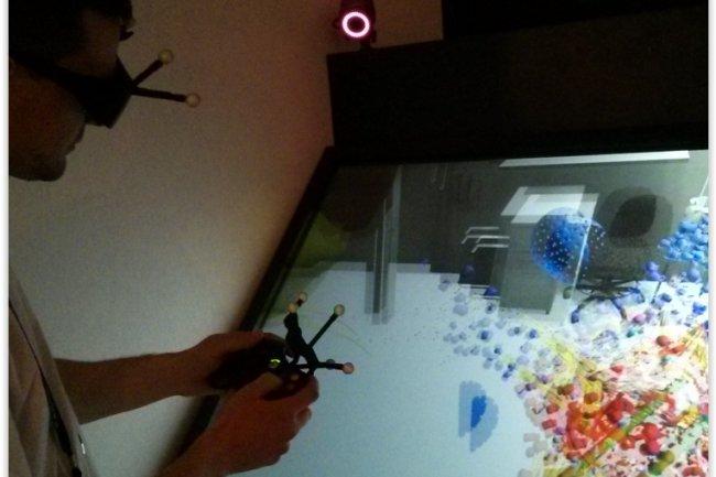 Laval Virtual donne le la en matière d'innovations technologiques dans le domaine de la réalité virtuelle et augmentée. (crédit : D.F.)