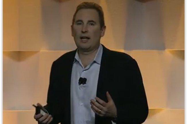 Andy Jassy, vice-président senior d'Amazon Web Services, a annoncé l'arrivée d'Elastic File System, à l'occasion de l'AWS Summit de San Francisco. (crédit : D.R.)