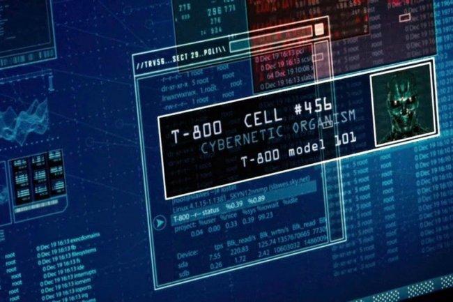 Le fameux T-800 est animé par un kernel Linux 4.1.15. (Crédit D.R.)