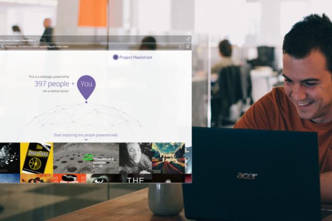 Pour naviguer de sites en sites, Maelstrom exploite une architecture distribuée. (Crédit D.R.)