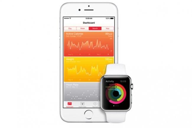 Après autorisation des utilisateurs, IBM pourra accéder aux données santé des utilisateurs de l'Apple Watch. (Crédit D.R.)