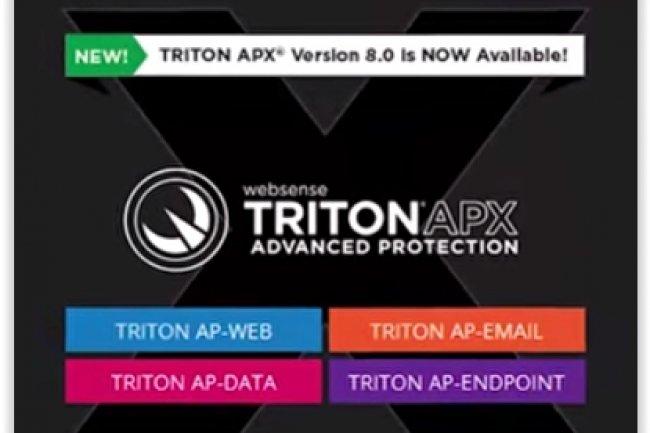 Websense propose la plateforme de sécurité Triton APX. (crédit : D.R.)