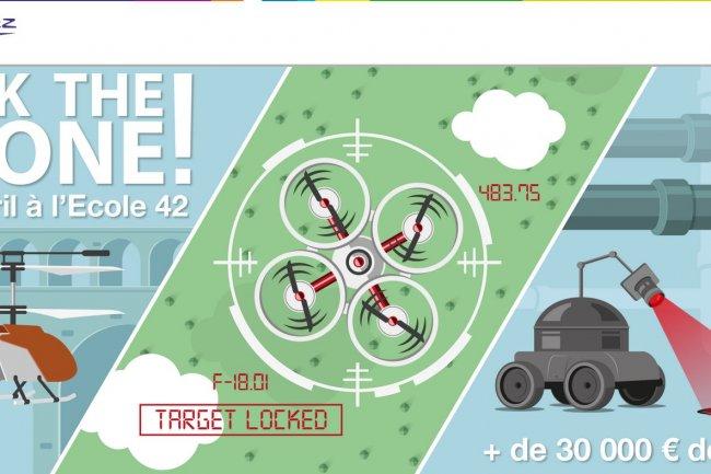 Hack The Drone permettra aux candidats de développer des solutions qui amélioreront les performances des drones afin de mieux répondre aux attentes des clients industriels de GDF Suez. Crédit: D.R