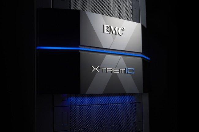XtremIo 4.0 permet de combiner jusqu'à huit X-Bric, contre six auparavant. (crédit : S.L.)