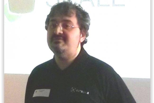 Laurent Seror est président et fondateur d'Outscale. (crédit : D.F.)
