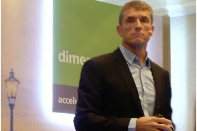 Brett Dawson, CEO de Dimension Data, nous a confirmé que son groupe n'allait pas exercer son option d'achat sur NextiraOne France. (crédit : LMI)
