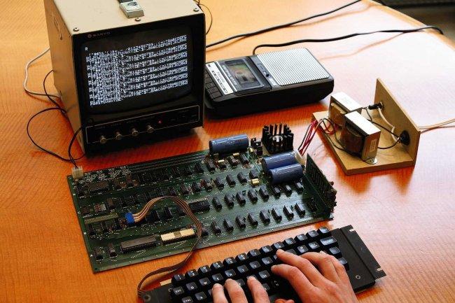 Les Apple 1 construits par Steve Wozniak sont très recherchés par les musées et les collectionneurs privés. (crédit : D.R.)