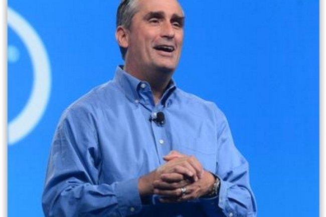 Intel, dont le CEO est Brian Krzanich, pourrait faire la plus grande acquisition de son histoire en rachetant Altera. (cr�dit : D.R.)
