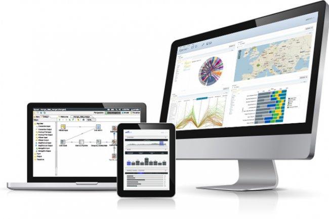 Pentaho proposera sa plate-forme de façon indépendante, mais celle-ci a été intégrée au logiciel d'analyse avancée de HDS.