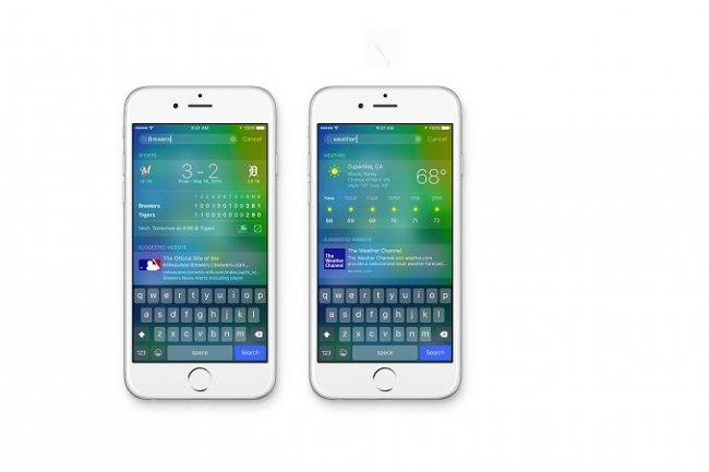 Avec la version 9 d'iOS, Apple a amélioré les capacités de réponses de Siri. (crédit : D.R.)