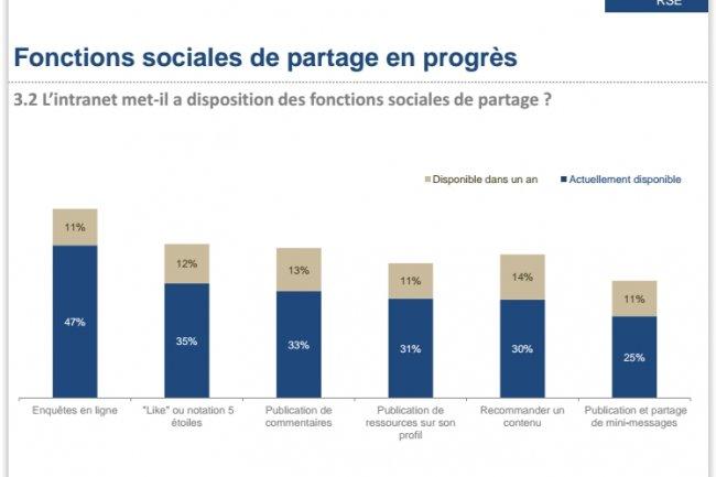 Les fonctions sociales des RSE. (source : Arctus)