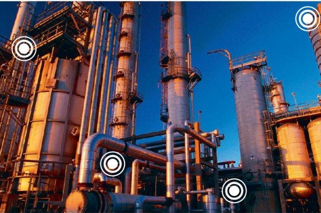 Les boitiers M2M en GMS/GPRS permettent de suivre à distance les points clefs d'une unité de production. (Crédit D.R.)