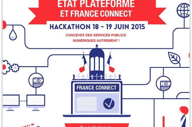 Le hackathon Etat plateforme va réunir une centaine d'informaticiens de l'administration qui vont travailler pendant 48h à la création de services numériques innovants. (crédit : D.R.)
