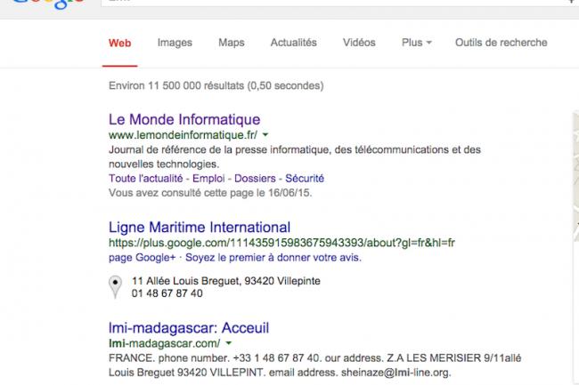 La place accordée dans certains cas par Google à ses propres produits porte préjudice aux utilisateurs.