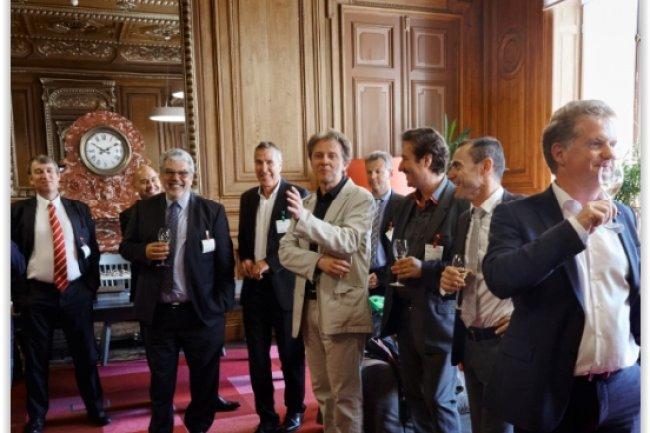 Les présidents des plus grands clubs IT de France se sont réunis à Paris le 19 juin dans le cadre de France Entreprise Digital, Le Grand Prix de l'Entreprise Numérique. (crédit : Bruno Levy)