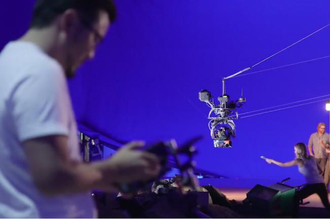 Pour les films à 360° du projet Spotlight, des caméras particulièrement sophistiquées sont utilisées par les réalisateurs.