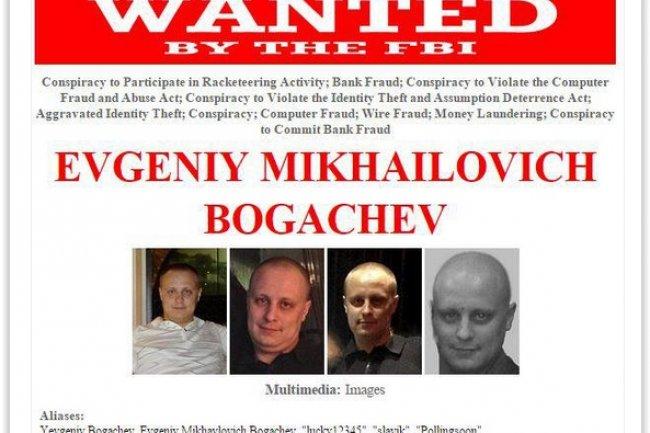 Soupçonné d'être à l'origine du malware Zeus, Evgeniy Mikhailovich Bogachev figure en tête de liste des cybercriminels les plus recherchés. (crédit : D.R.)