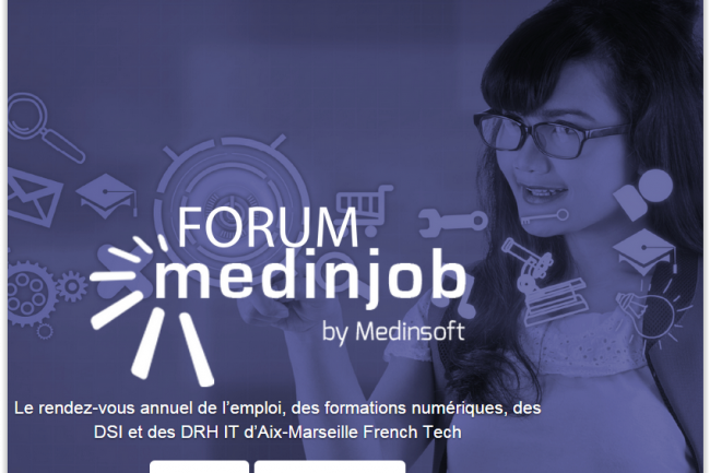 Les Forums Medinjob vont se dérouler à Aix-en-Provence le 28 septembre et à Marseille le 8 octobre. (crédit : D.R.)