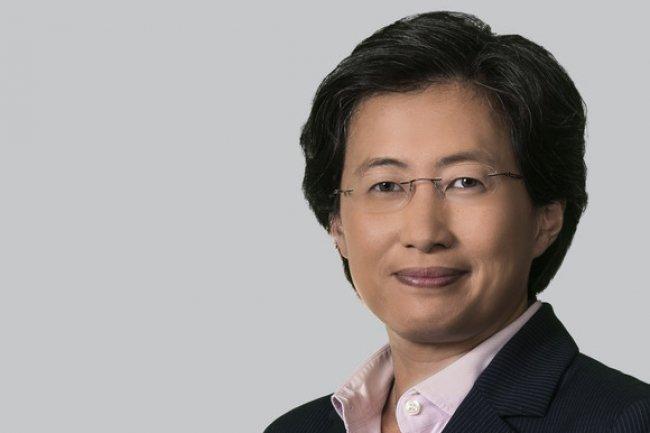 Lisa Su, la CEO d'AMD, a présenté des résultats marqués par les mauvaise performances des ventes de PC. Crédit photo : D.R.