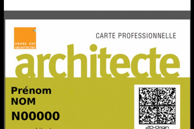 Le Conseil National De LOrdre Des Architectes Sest Attache Les Services