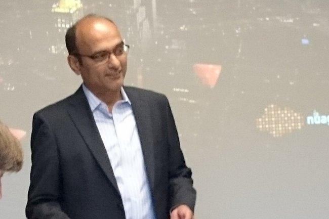 Sunil Khandekar, CEO de Nuage Networks à Mountain View. (crédit : D.R.)