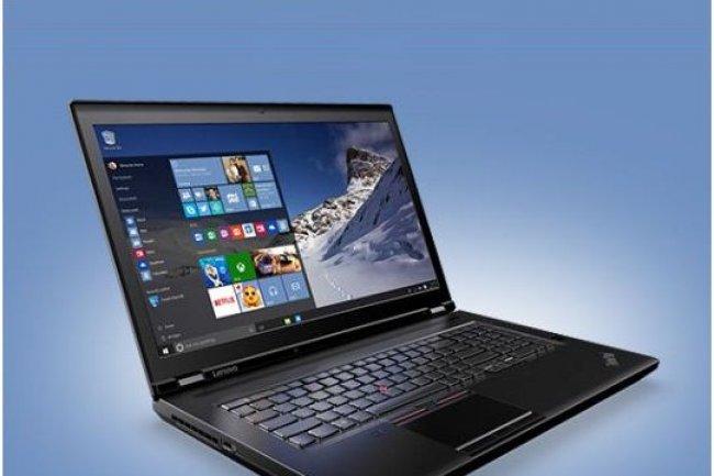 La station de travail ThinkPad P70 de Lenovo est l'un des premiers ordinateurs portables à proposer des puces Skylake. (crédit : Rob Schultz)