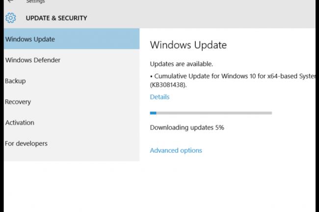 Microsoft ne fournit plus de détails concernant tous les correctifs appliqués à Windows 10. (crédit : D.R.)
