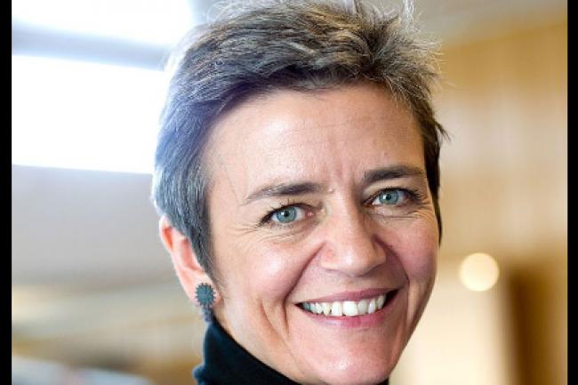 Margrethe Vestager, nouvelle Commissaire européenne à la concurrence ne veut pas d'un marché unique des télécoms
