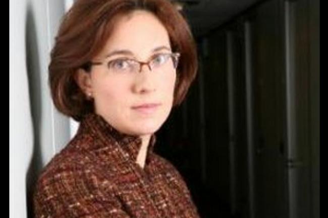 Bianca Francesca Granetto, directrice de recherche au Gartner, a mené l'étude sur la progression de l'adoption des applications métiers. (crédit : D.R.)