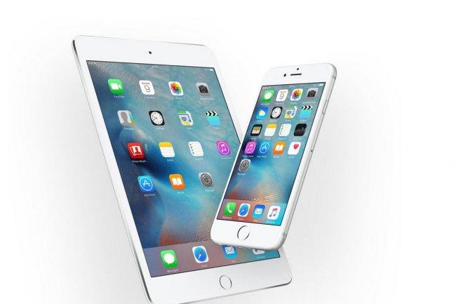 La mise à jour d'iOS 9 ne pèse près de quatre fois mois que celle d'iOS 8 l'an dernier. (crédit : D.R.)