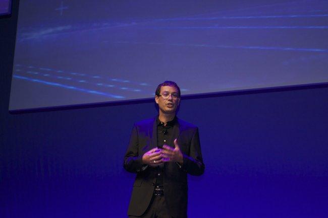 Michael Smetana, vice-président de la division LaserJet et des solutions d'entreprise pour HP EMEA a rappelé que les imprimantes étaient aujourd'hui trop peu protégées.