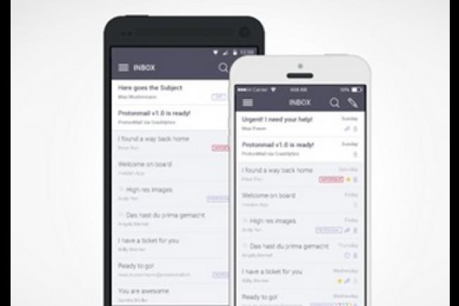 Protonmail automatise la lecture des mails chiffrés de Facebook. (crédit : D.R.)