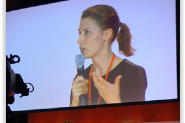 Mathilde Lamazère, directrice Internet et CRM chez Club Med. (crédit : LMI)