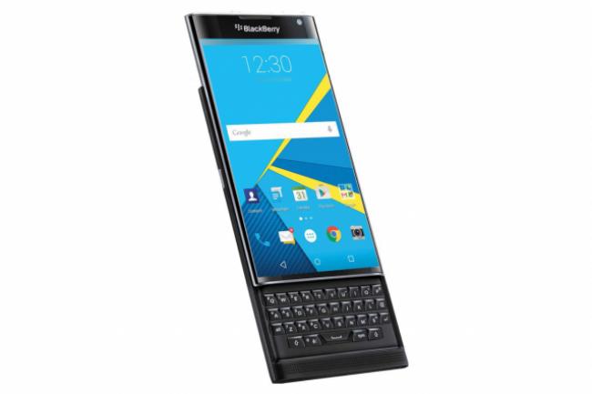 Avec le Priv sur base Android, Blackberry tourne la page de Blackberry OS.