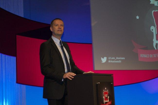Pour Guillaume Poupard, directeur général de l'ANSSI, les acteurs de la cybersécurité doivent tous travailler main dans la main sinon le combat est vain. (crédit : LMI)