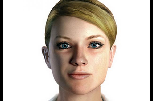 L'assistant virtuel Amelia d'Ipsoft, ici dans sa version 1.0, a été conçu pour automatiser le support client. (crédit : D.R.)