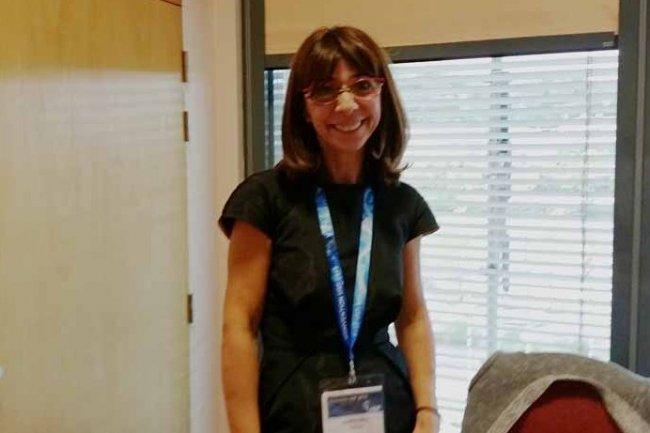 Cristina Pisica-Donose, présidente de la commission Bases de Données de l'USF, a présenté la note de perspectives sur SAP/Hana.