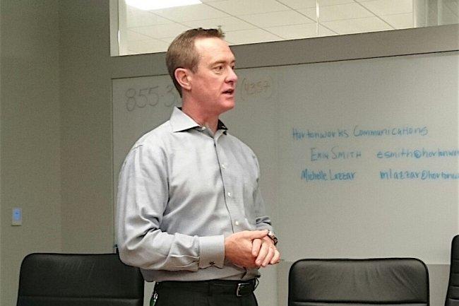 Herb Cunitz, le CEO de Hortonworks, compte sur DataFlow pour renforcer le périmétre de sa distribution Hadoop.