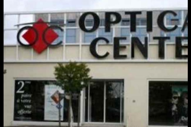 La chaîne d'optique Optical Center comprend environ 400 magasins. (crédit : D.R.)