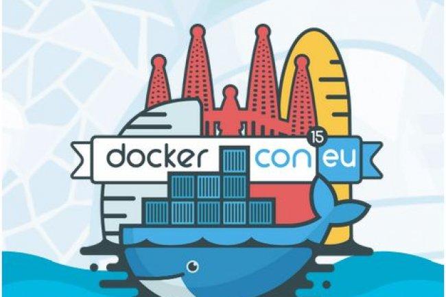 A Barcelone, sur DockerCon Europe 2015, Docker a présenté une brique d'administration qui, ajoutée à ses autres solutions, permettra de constituer des offres de containers as a service. (crédit : D.R.)